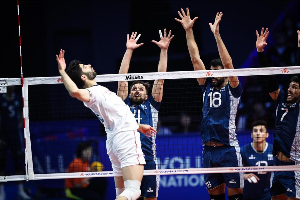 لیگ ملت های والیبال 2019 - تیم ملی والیبال ایران - تیم ملی والیبال آرژانتین