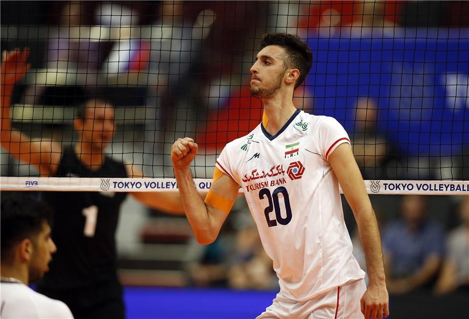 والیبال انتخابی المپیک -  تیم ملی والیبال ایران - تیم ملی والیبال مکزیک