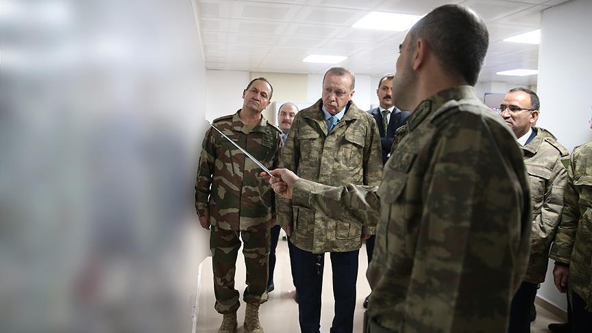 رجب طیب اردوغان.نظامی