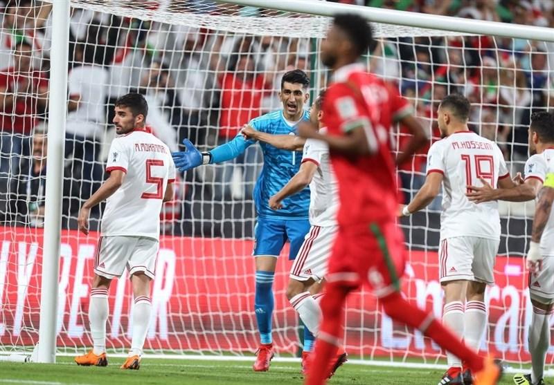 جام ملت های آسیا -- کی روش ایران و عمان -بیرانوند