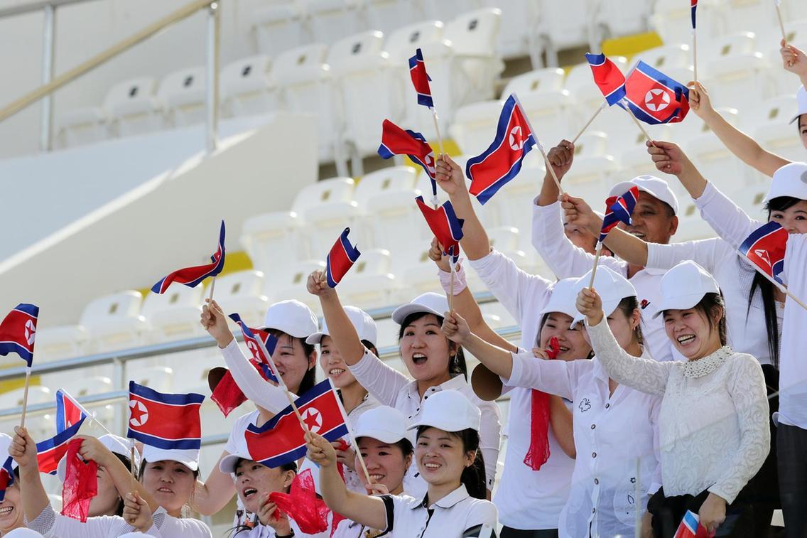 جام ملت های آسیا - قطر و کره شمالی