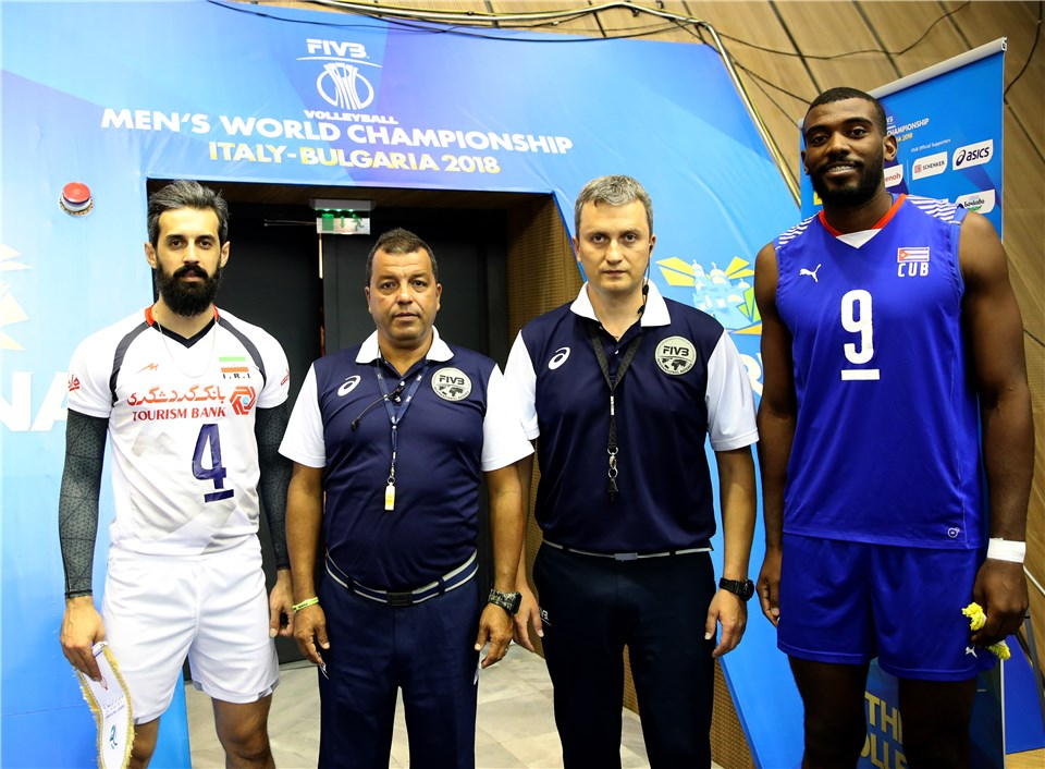 والیبال قهرمانی جهان - ایران و کوبا