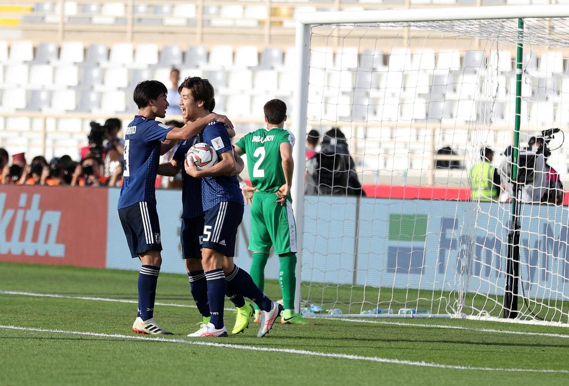 جام ملت های آسیا - ترکمنستان و ژاپن