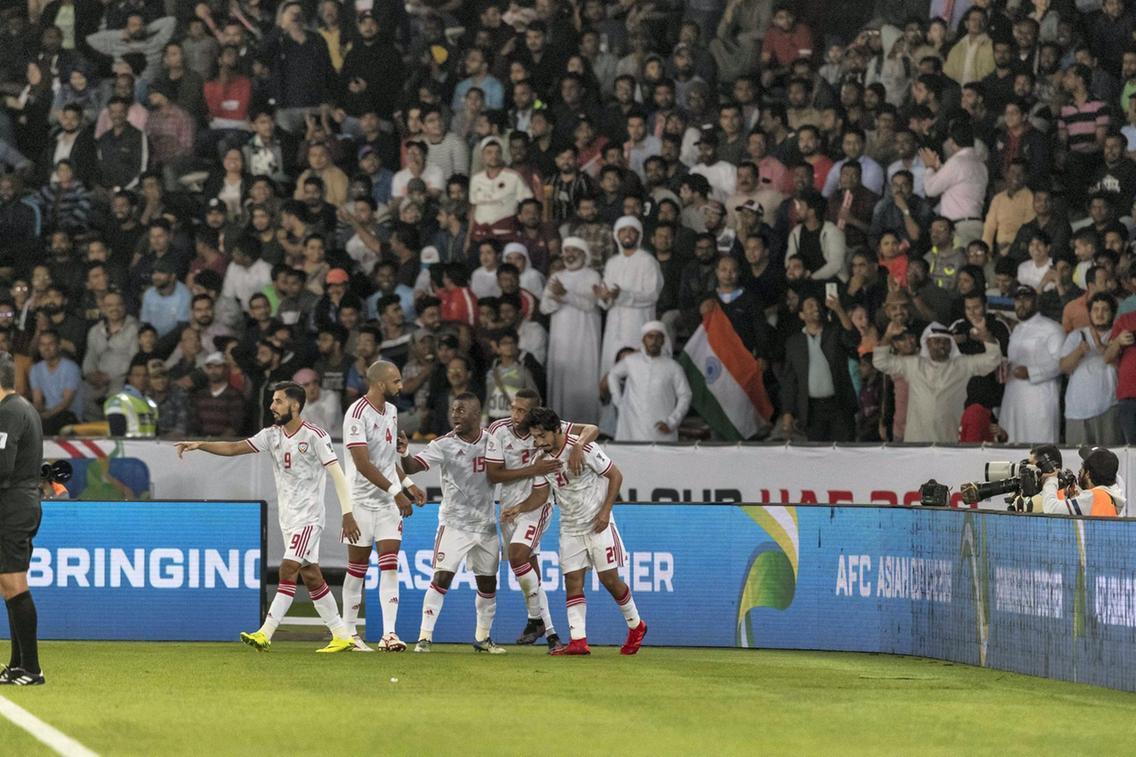 جام ملت های آسیا - هند و امارات