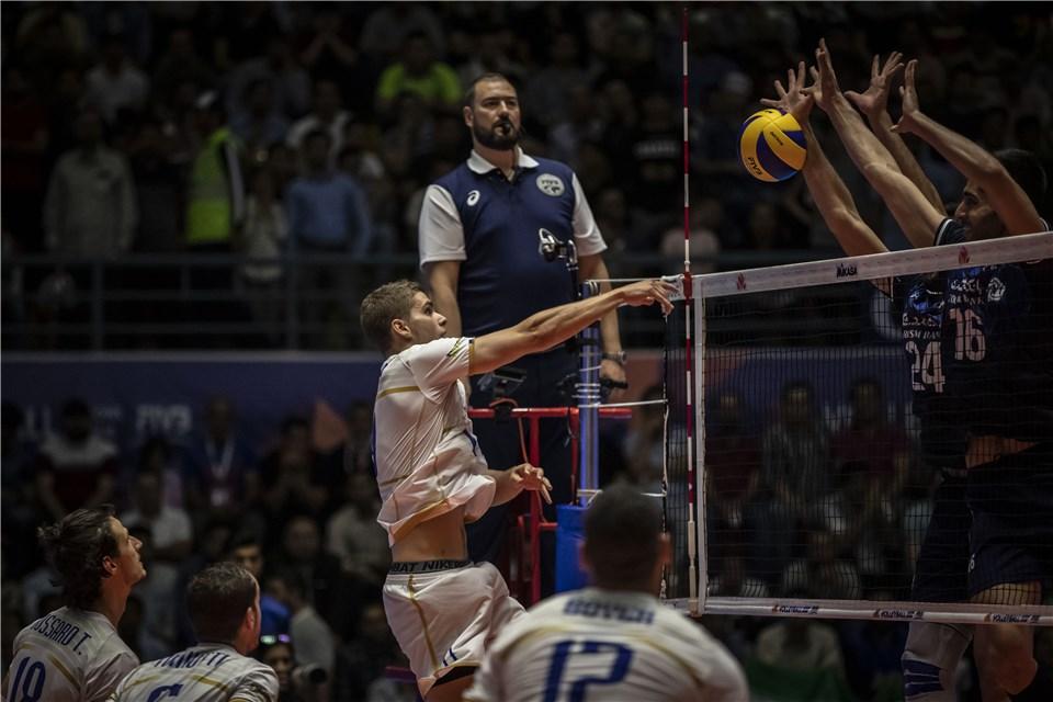 لیگ ملت های والیبال 2019 - تیم ملی والیبال ایران - تیم ملی والیبال فرانسه