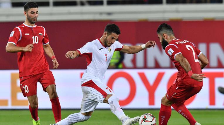 جام ملت های آسیا-  اردن و سوریه