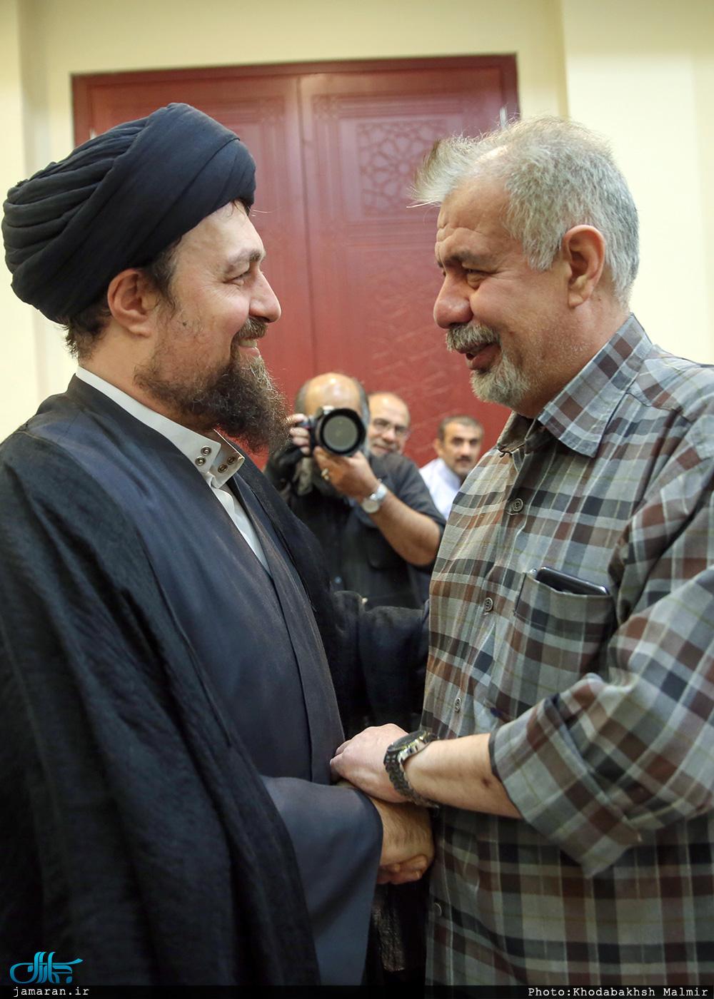 بهرام شفیع و سید حسن خمینی