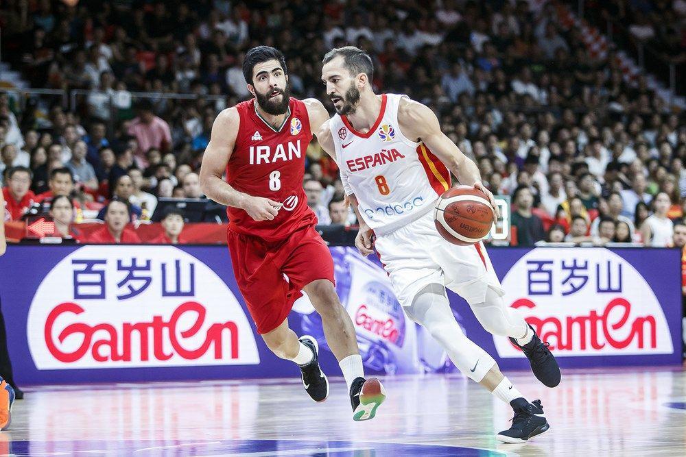 جام جهانی بسکتبال 2019 - ایران - اسپانیا