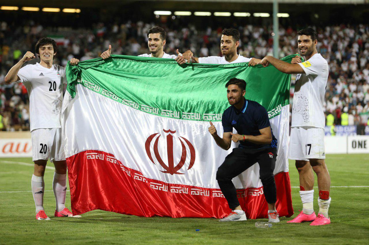 نتیجه تصویری برای تیم ملی ایران