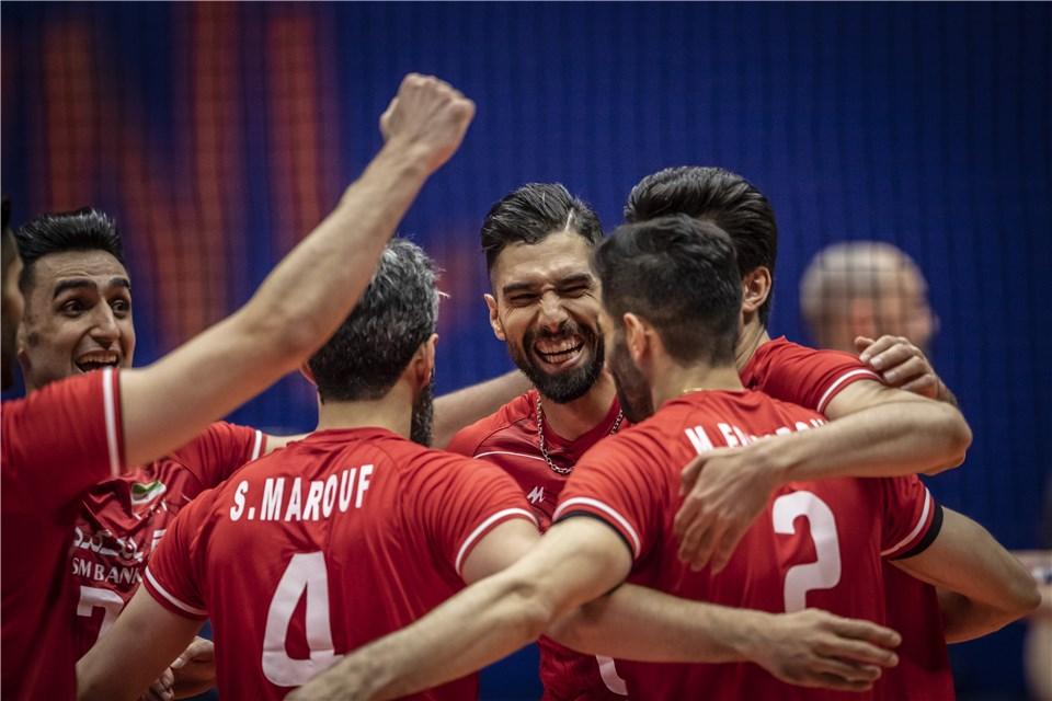 لیگ ملت های والیبال 2019 - تیم ملی والیبال ایران - تیم ملی والیبال کانادا