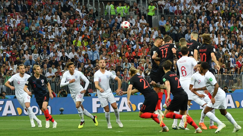جام جهانی - انگلیس و کرواسی
