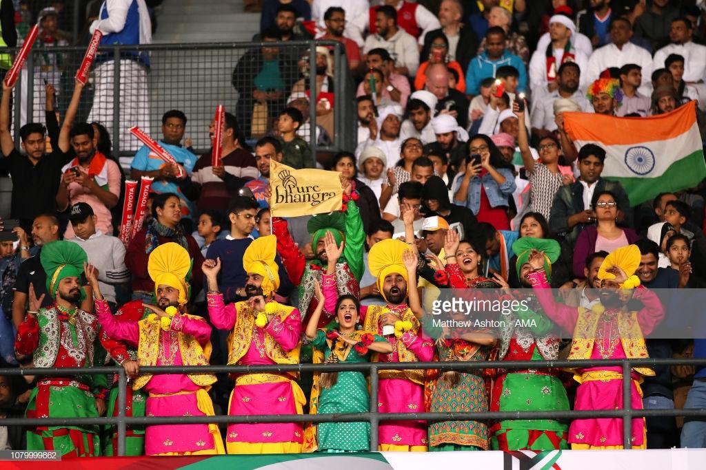 تماشاگران هندی