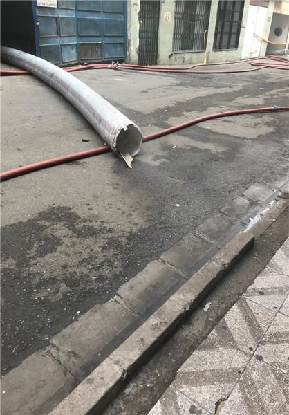 آتش سوزی وزارت نیرو