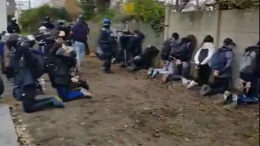 فرانسه.اعتراض دانش آموزان