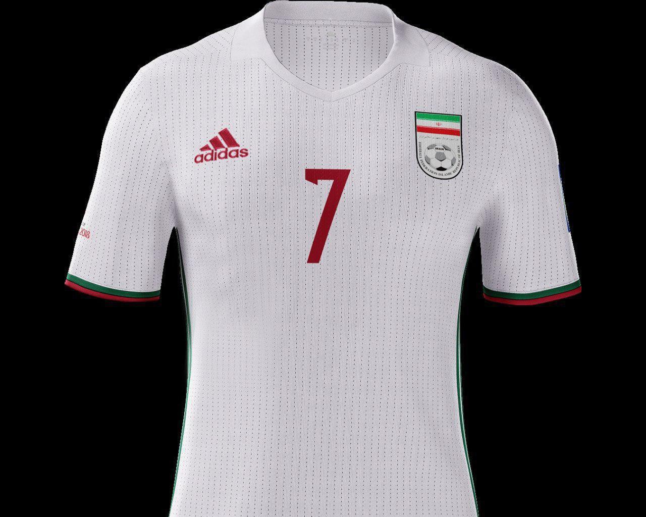 پیراهن احتمالی تیم ملی در جام جهانی