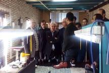 معاون وزیر صنعت از شهرک چرم شهر مشهد بازدید کرد