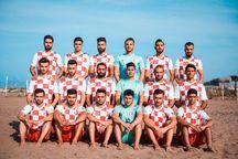 ثبت امتیاز به نفع تیم فوتبال ساحلی نوشهر با غیبت تیم آبادانی