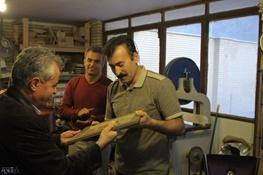 دیدار انجمن تجلیل از هنرمندان کردستان با استاد رحمت آیینی