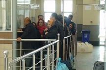 9568 نفر مسافر از مرز باشماق وارد کشور شدند