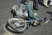 موتورسوار میبدی در برخورد با درخت فوت کرد
