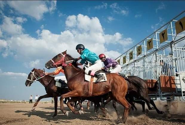 هفته پنجم رقابتهای کورس پاییزه اسب دوانی آق قلا برگزار شد