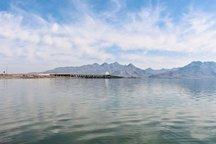 کاهش تراز دریاچه ارومیه نسبت به سال گذشته