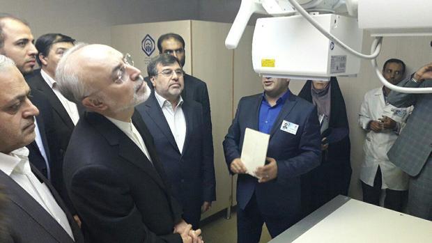 طرح های بیمارستان تامین اجتماعی قزوین افتتاح شد