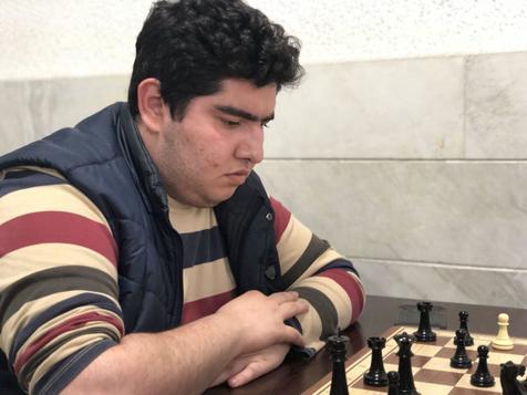 شطرنج باز ایرانی در آستانه قهرمانی جوانان جهان