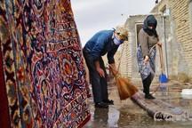 روزهای پایانی سال و  مصرف بی رویه آب  در خانه تکانی ها