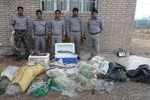 دستگیری شکارچیان غیر مجاز در پلدختر