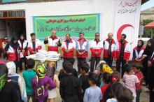 یک روزکار داوطلبی هلال احمر گیلان در دیلمان برگزار شد