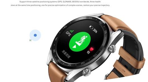 ساعت هوشمند هوآوی واچ جی تی با تمرکز روی تناسباندام + عکس