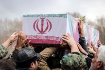 پیکر مطهر شهید نیروی انتظامی در قم تشییع شد