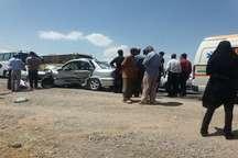 هفت نفر بر اثر تصادف در جاده نیشابور راهی بیمارستان شدند