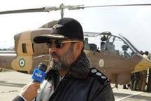 هوانیروز ارتش 620 سورتی پروازبه مناطق سیلزده لرستان انجام داد