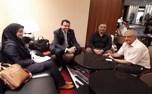 دیدار هادی رضایی با دبیر کل کمیته پاراالمپیک آسیا