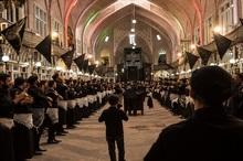 بازار سنتی تبریز، میراث دار آئین های حسینی