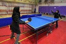 رقابتهای تنیس روی میز دختران منطقه ۱۱ کشور در بوشهر برگزار شد