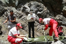 نجات جان بانوی 35 ساله در ارتفاعات آقداش چهارمحال و بختیاری