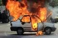 کشته شدن ۴ نفر بر اثر کپسول گاز پراید در اسلام آباد غرب