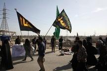 اعزام زائران 7 استان به کربلا از مرز خسروی