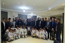 تجلیل از کاراته کاهای قزوینی با حضور نماینده مجلس