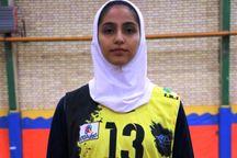 والیبالیست تیم بانوان شهرداری سمنان به تیم ملی دعوت شد