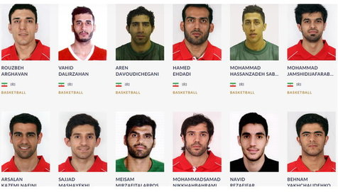 ترکیب بسکتبال ایران برای بازیهای آسیایی+ عکس