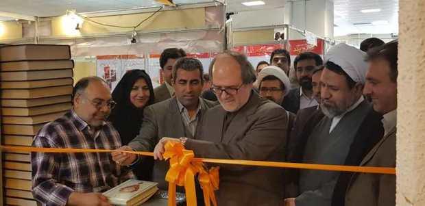 نمایشگاه مشترک کتاب و مطبوعات کرمان گشایش یافت