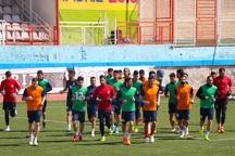 تراکتورسازی در ورزشگاه اختصاصی شهرداری تبریز تمرین کرد