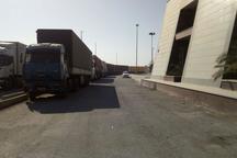 صادرات کالای غیرنفتی از پایانه تجاری چذابه به عراق از سر گرفته شد