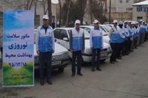 مانور سلامت نوروزی در کردستان اجرا شد