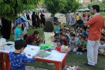 کودکان آذربایجان غربی از پویش فصل گرم کتاب استقبال کردند
