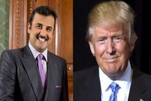 مخالفت امیر قطر با میانجیگری ترامپ